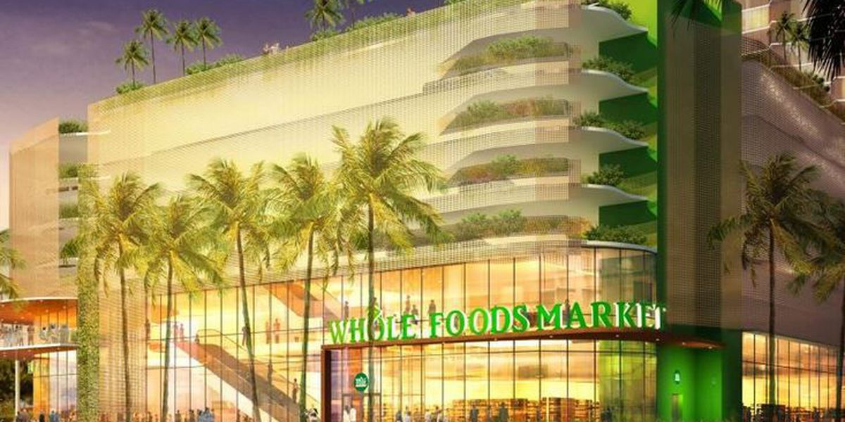 Whole Foods announces opening date for new Kaka'ako location