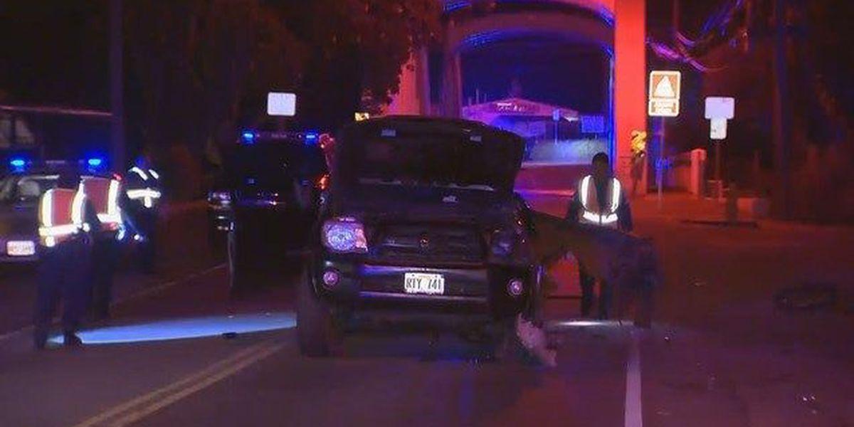 Man critically injured in Haleiwa car accident