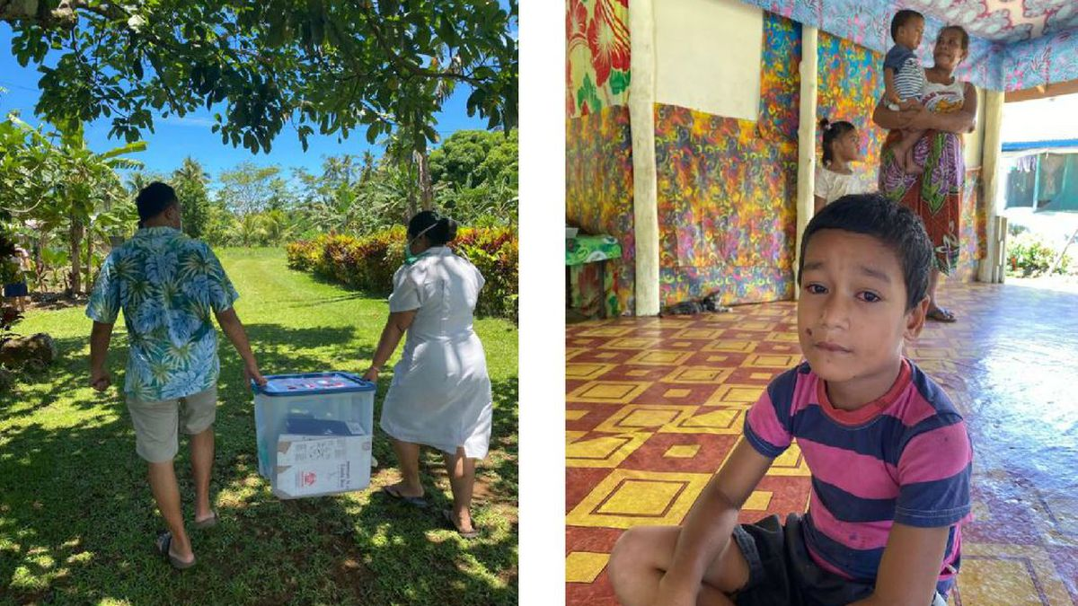 Medical team from Hawaii reaches Samoa in mass vaccination campaign against measles