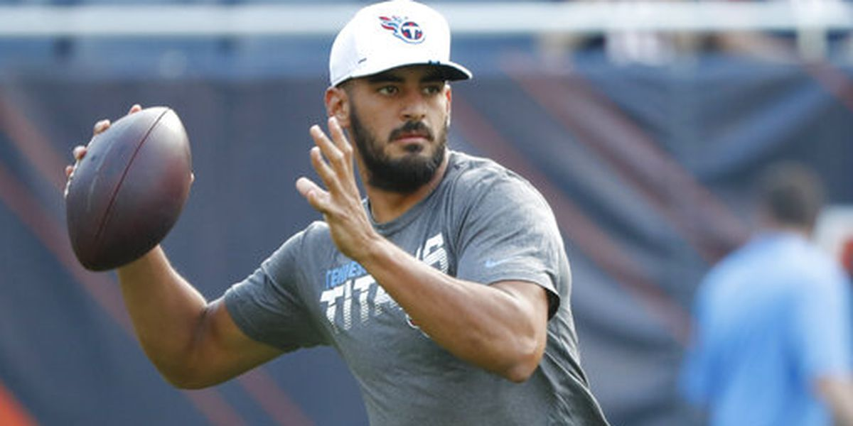 One of Marcus Mariota's game day rituals is so perfectly Marcus Mariota