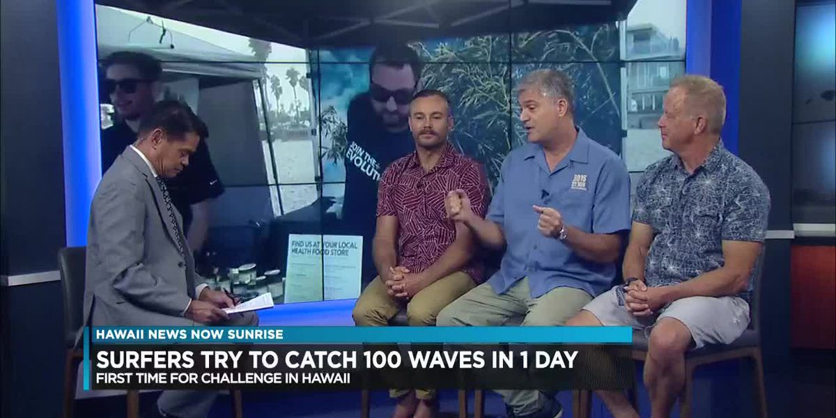Hundreds of surfers to participate in 100 Wave Challenge
