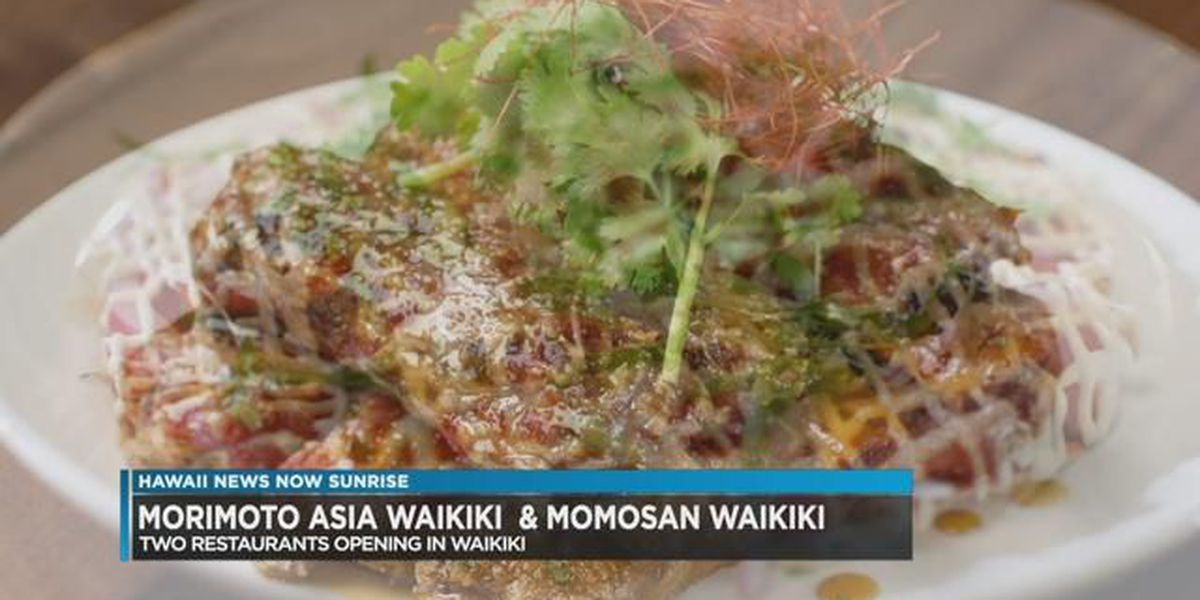 Chef Morimoto opens two new Waikiki restaurants