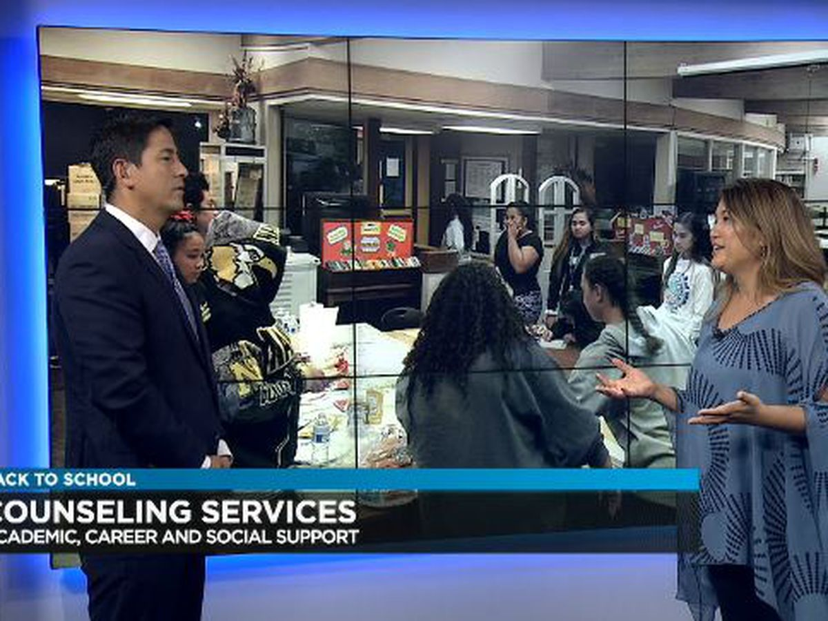 Back to School: Hawaii State Counselor of the Year talks services available to students