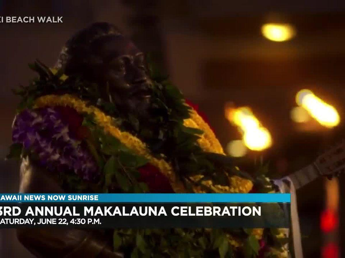 Makalauna Celebration at Waikiki Beach Walk honors Gabby Pahinui