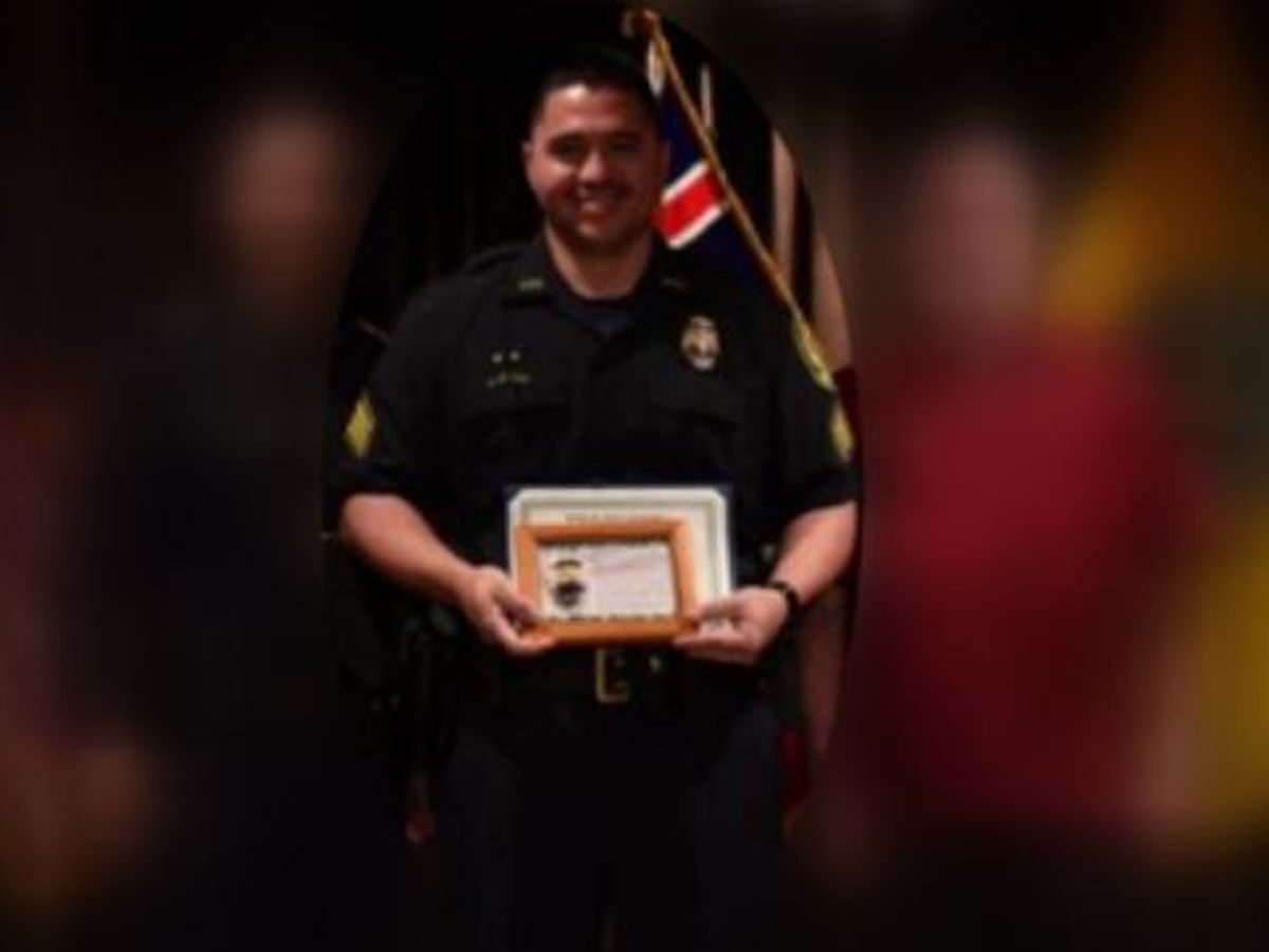HPD officer arrested, accused of felony domestic abuse