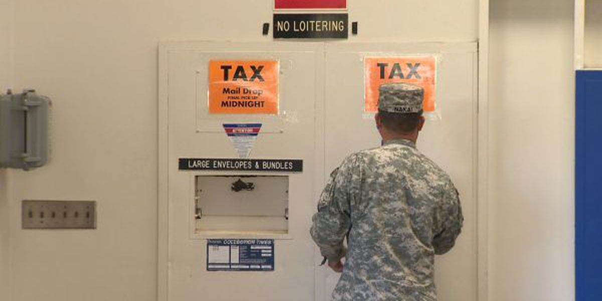 FULL LIST: Hawaii post offices to stay open late for tax day collections
