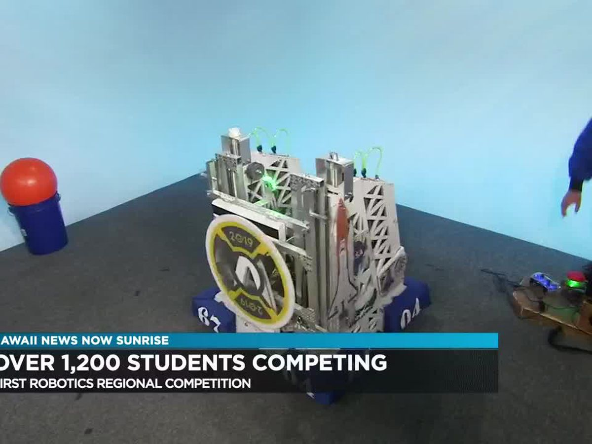 Robotics teams to face off at annual First Robotics Regional Competition