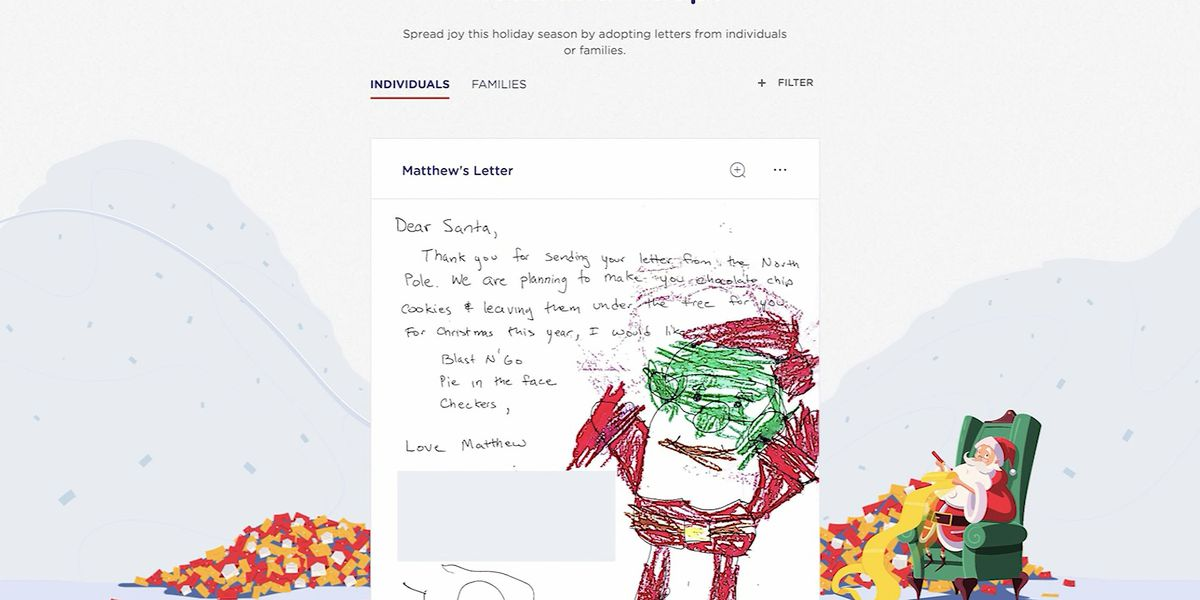 USPS is recruiting elves to help spread Christmas cheer through 'Operation Santa'