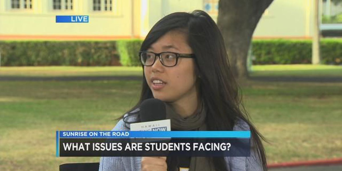 SOTR McKinley: Interview with school's student body president