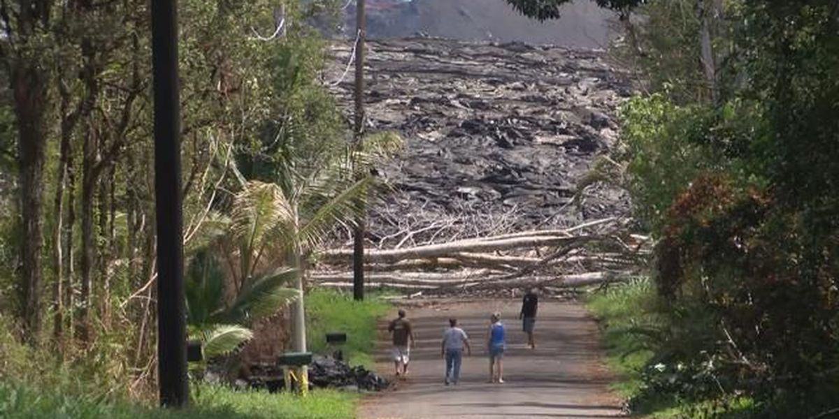 'A mixture of joy and sadness' as Leilani Estates residents return home after eruption