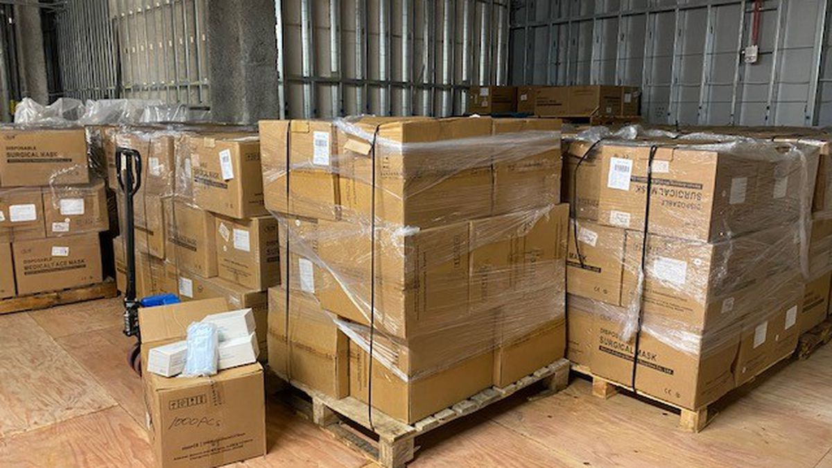 Generous donors with good connections bolster Hawaii's PPE stockpile