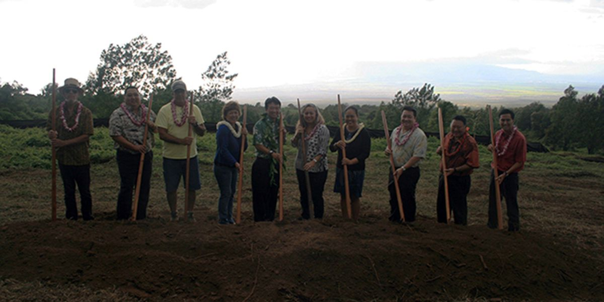 Groundbreaking ceremony held for new homestead on Maui