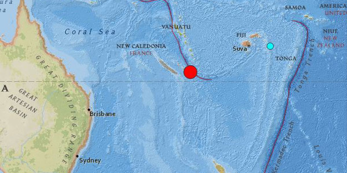 No tsunami threat to Hawaii after strong South Pacific quake; minor tidal changes possible