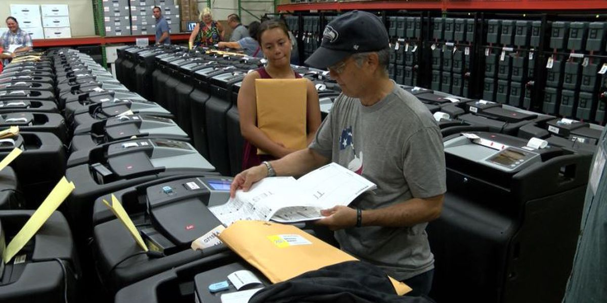 Ballot counting system undergoes tests ahead of general election