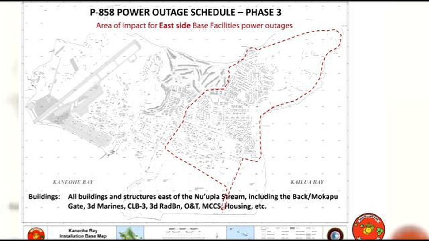 Kaneohe Military Families Face Lengthy Mandatory Power Outages