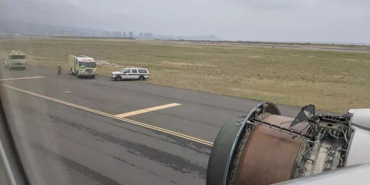 NTSB: 'Separation of a fan blade' led to engine cover falling off Honolulu-bound plane