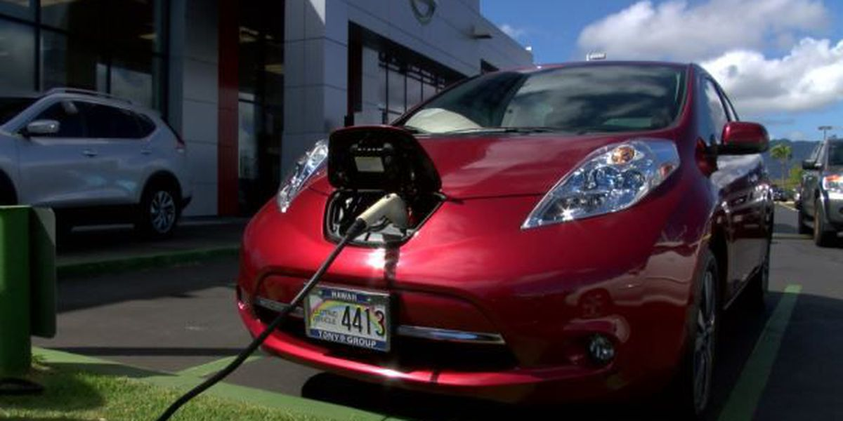 Group working to add more charging stations for electric vehicles
