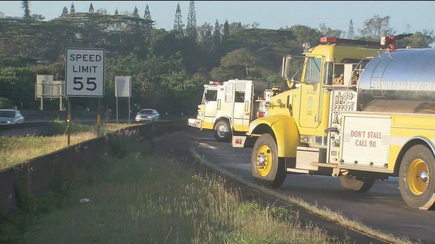 Homeless woman killed while trying to cross H-2 in Wahiawa