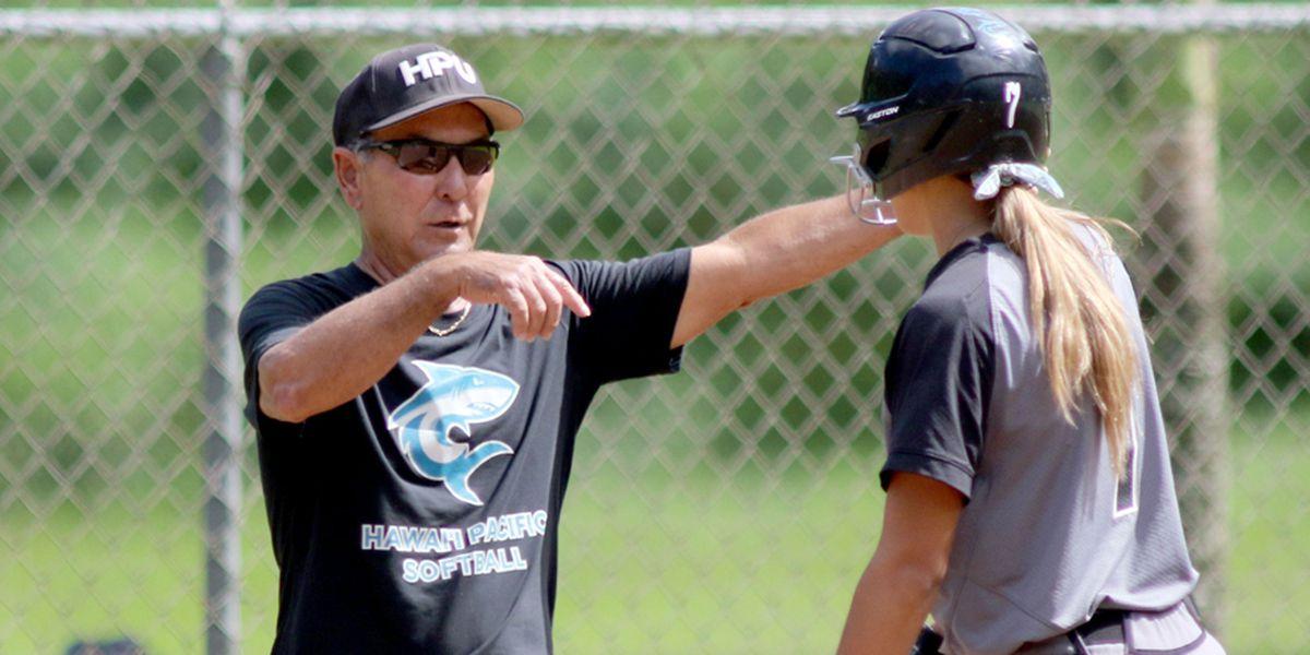HPU Softball's Bryan Nakasone retires as Head Coach