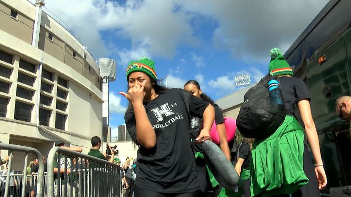 Wahine depart for Sweet 16