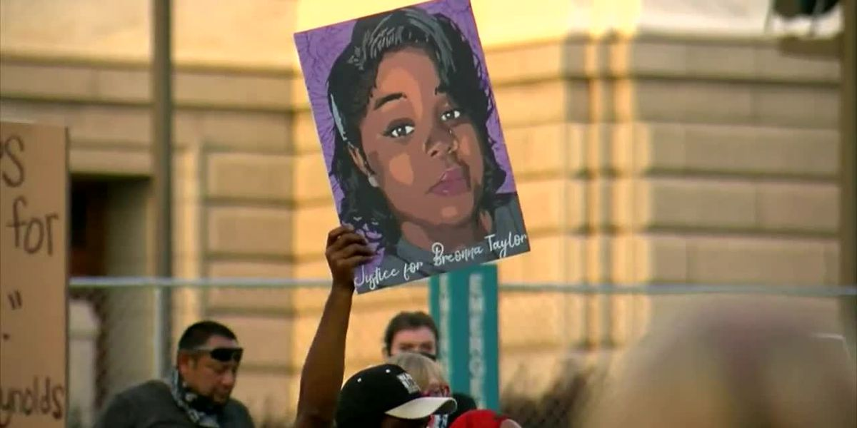 Still mourning Floyd, Minneapolis protests lack of charges in Breonna Taylor death