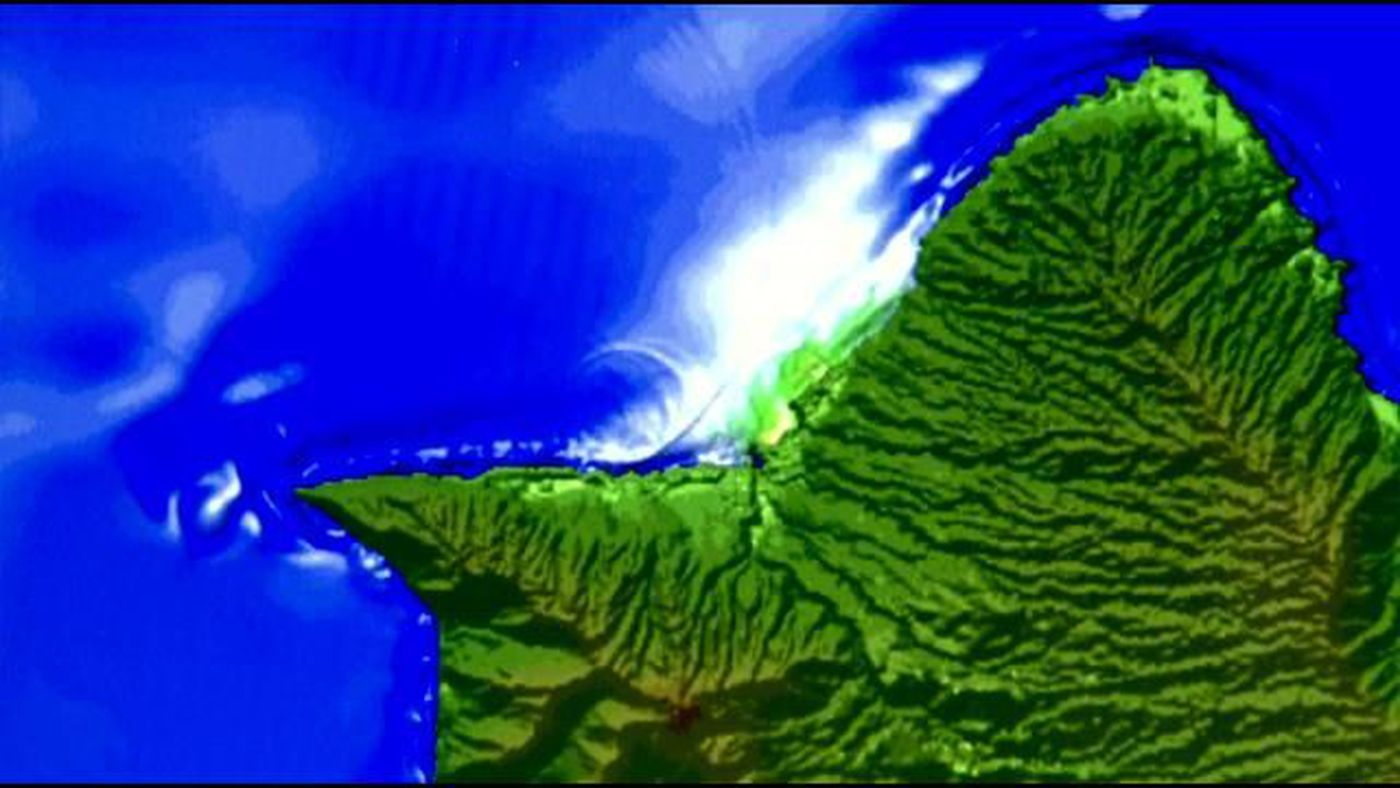 Study Points To Possibility Of >> New Study Points To Possibility Of Extreme Tsunami In Hawaii