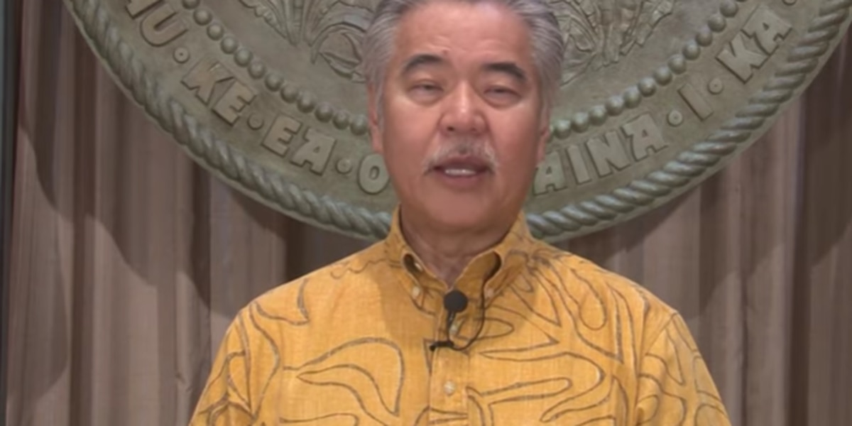 Ige tells state workers: There's no 'immediate need' to consider pay cuts or furloughs