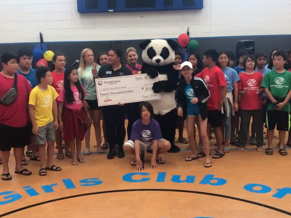 Panda Express celebrates anniversary with donation to Boys & Girls Clubs