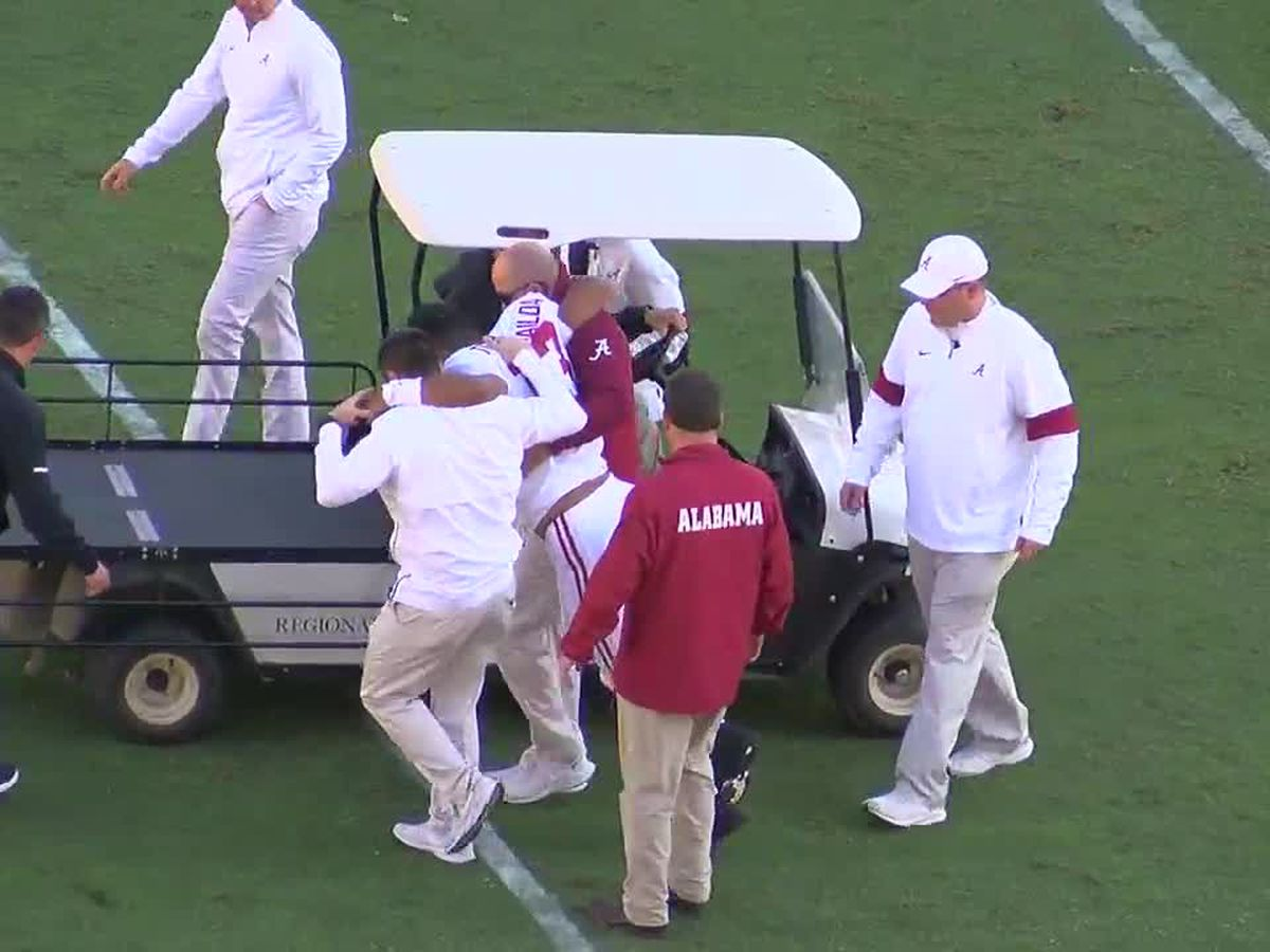 Tua Tagovailoa carted off the field, out for remainder of the season