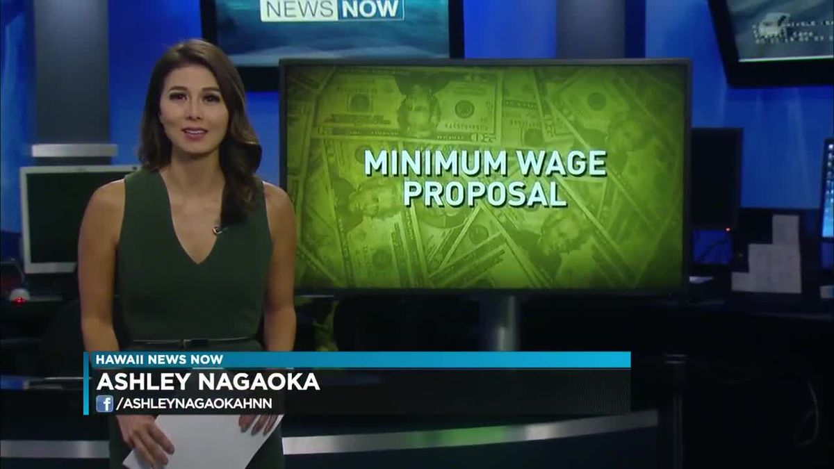 Proposals to raise Hawaii's minimum wage to $15 an hour move ahead at the capitol