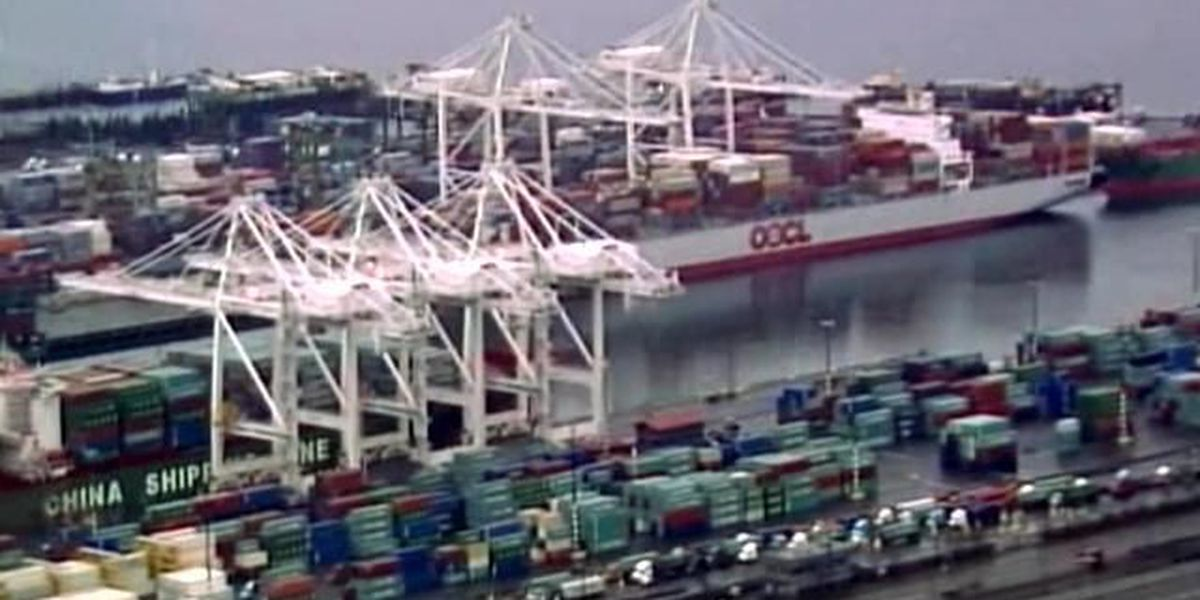 West Coast docks busy; contract ratification vote still to come