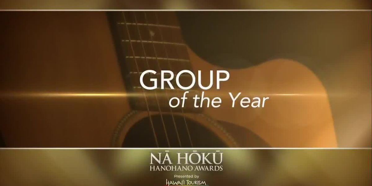 2019 Na Hoku Hanohano Awards: Group of the Year