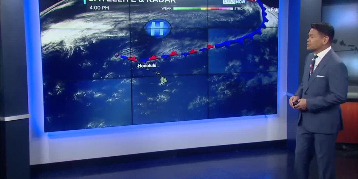 Forecast: Breezy trades, a few more passing windward showers for the weekend