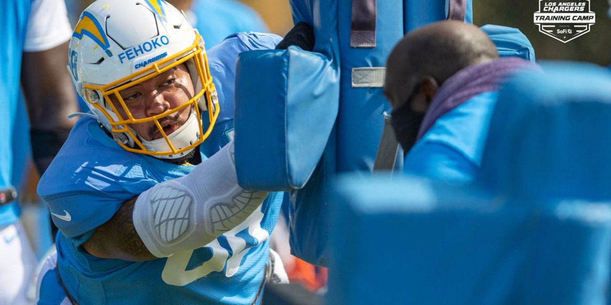 Farrington's own Breiden Fehoko reflects on his first NFL training camp