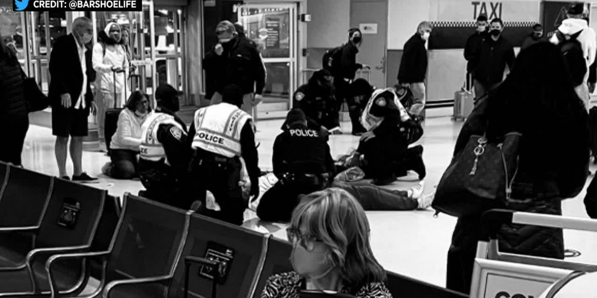 Dr. Oz, officer help save man at airport