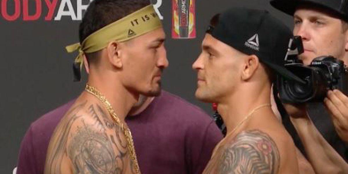 Holloway makes weight ahead of UFC 236 interim-lightweight title fight against Poirier