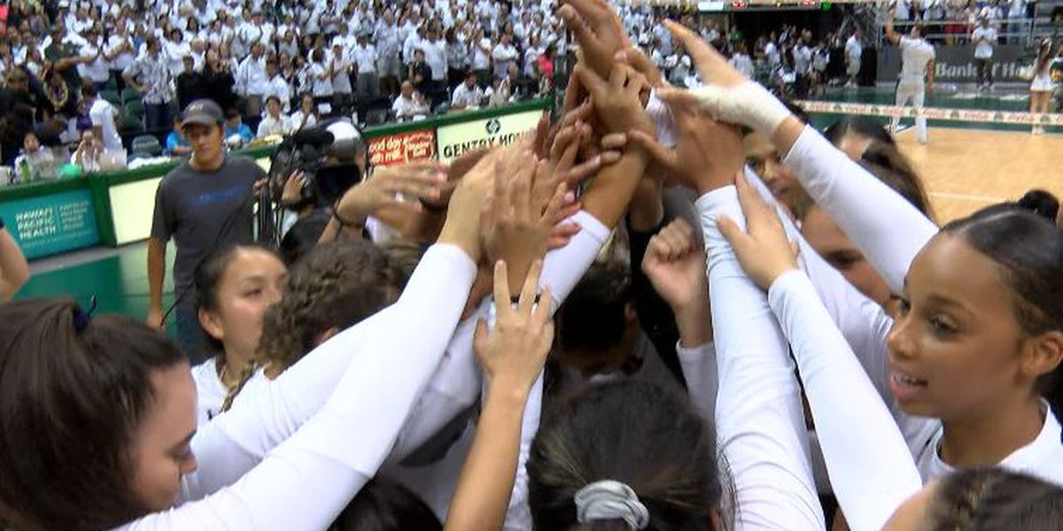 Rainbow Wahine volleyball team swept out of NCAA tournament by Nebraska