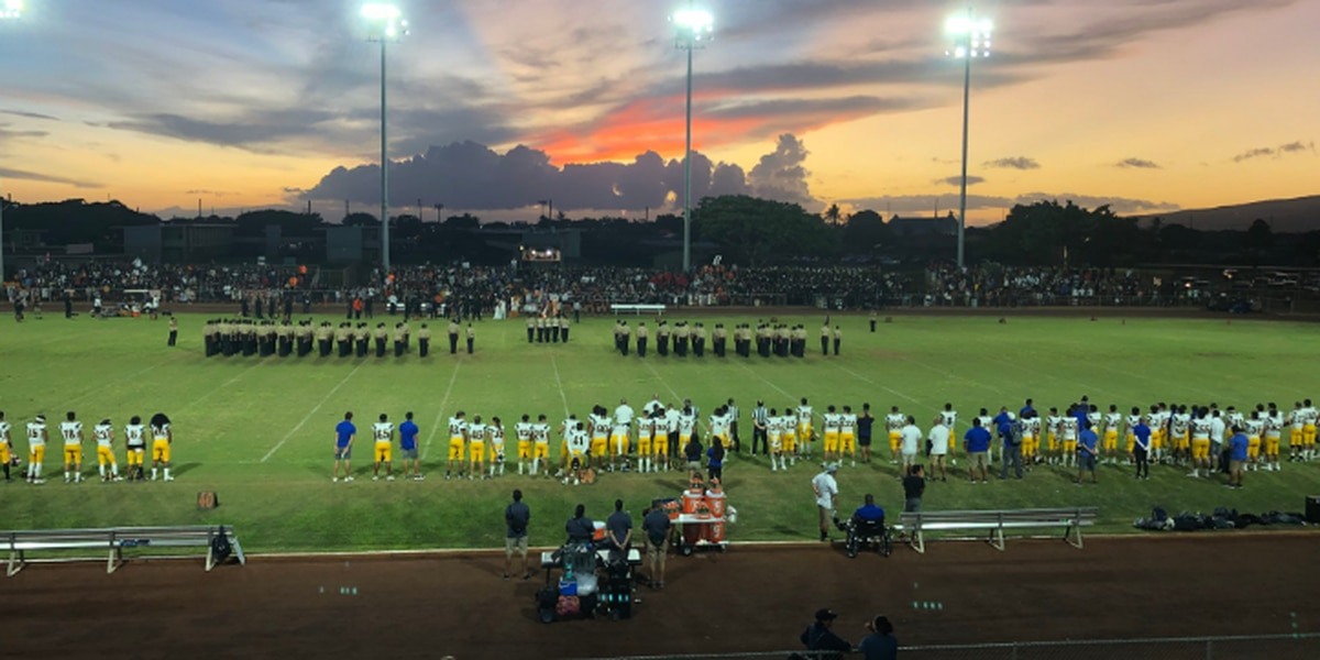 #3 Punahou's 31-21 win over #5 Campbell highlights Saturday night prep action