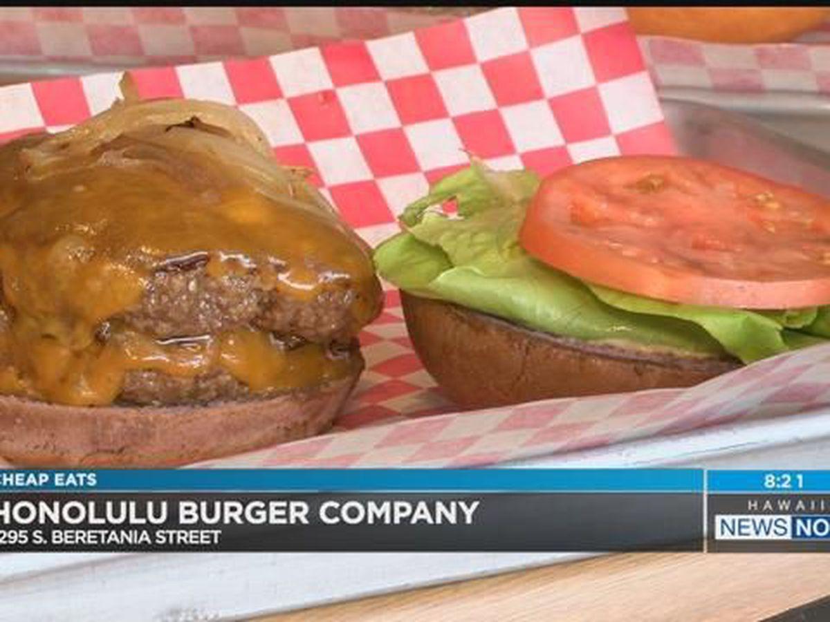 Cheap Eats: Honolulu Burger Company