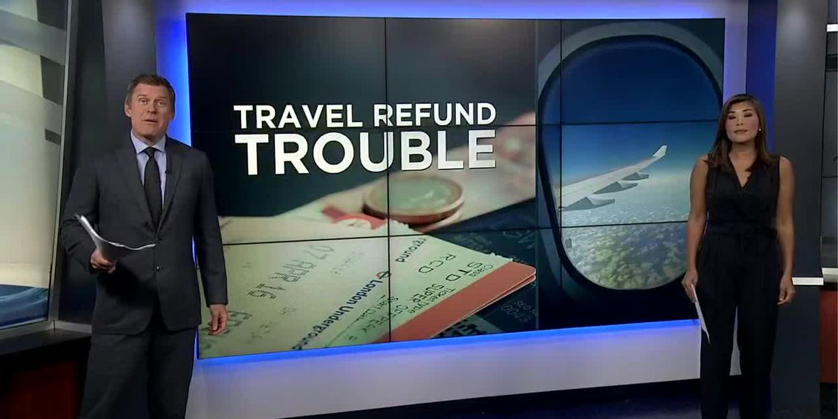 As pandemic drags on, many still struggle to get travel refunds