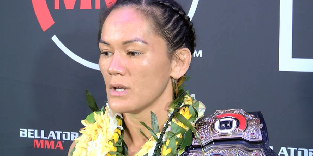 Macfarlane addresses media after Bellator 213 title defense