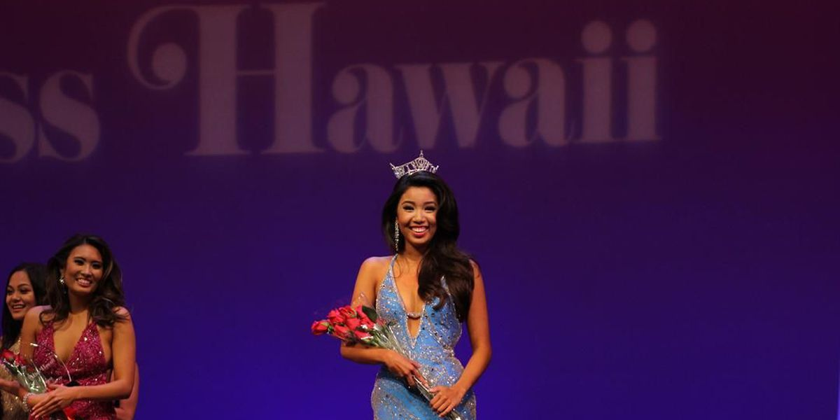 74th Miss Hawaii crowned at the Historic Hawaii Theatre