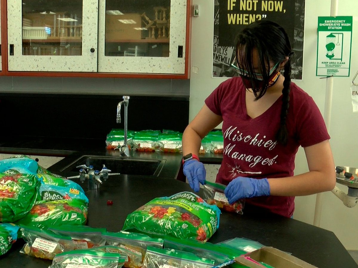 With fall break nearing, Castle High students to hand out out fun activity kits