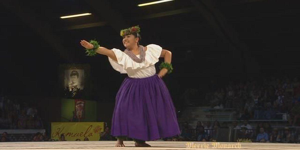 2018 Miss Aloha Hula - Kahiko: Meagan Puanani Guerrero