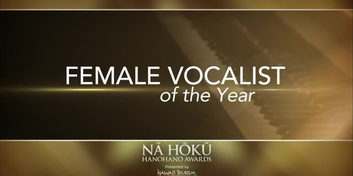 2019 Na Hoku Hanohano Awards: Female Vocalist of the Year