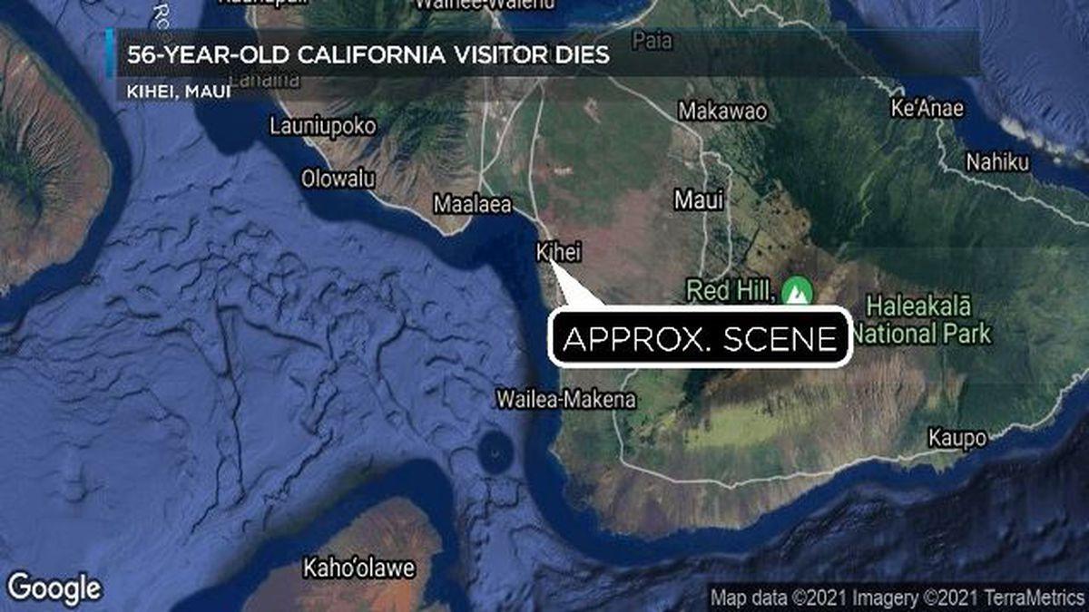 California man dies while paddle boarding off Maui