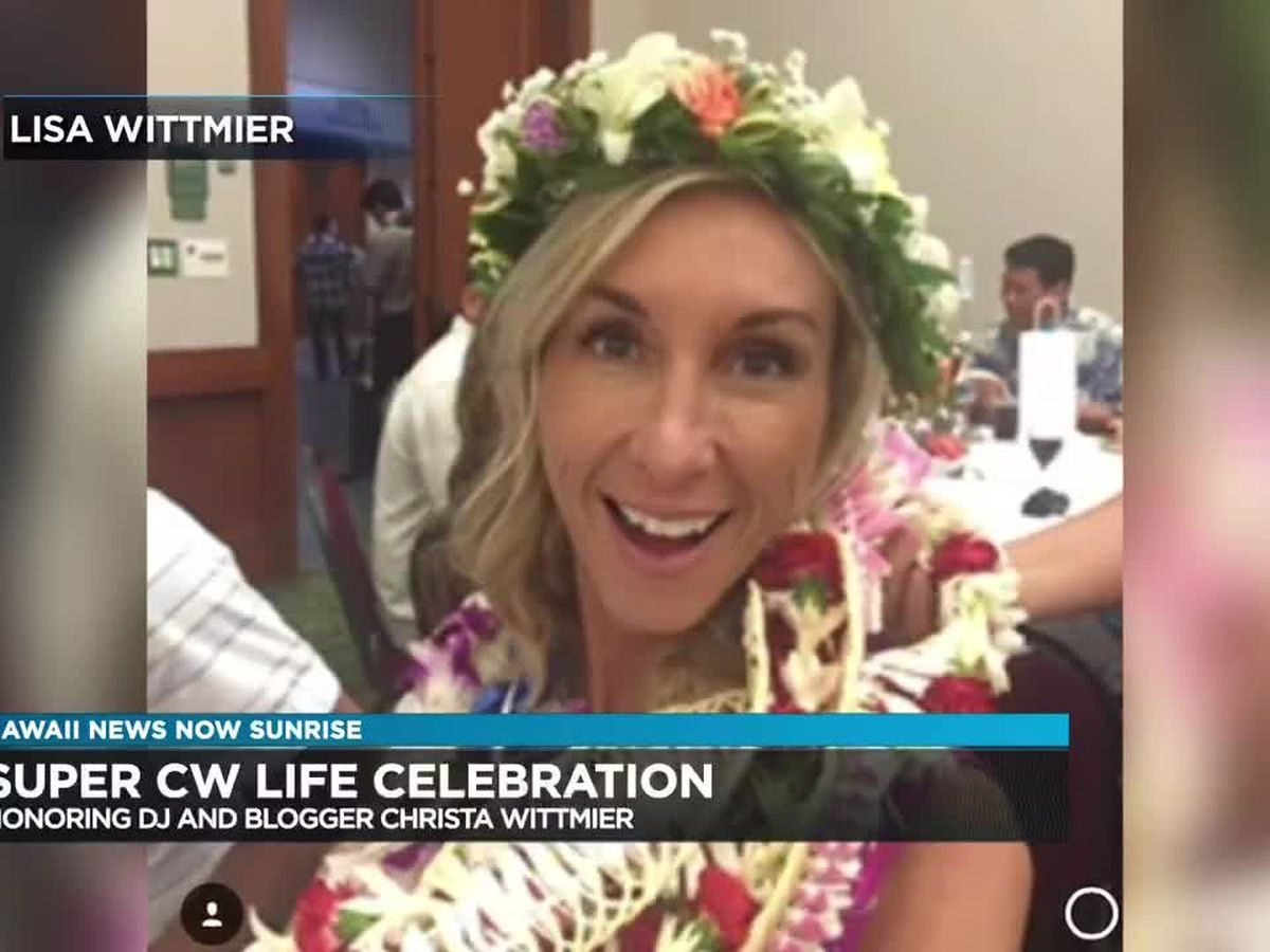 Celebration of life ceremony to honor DJ and blogger Christa Wittmier