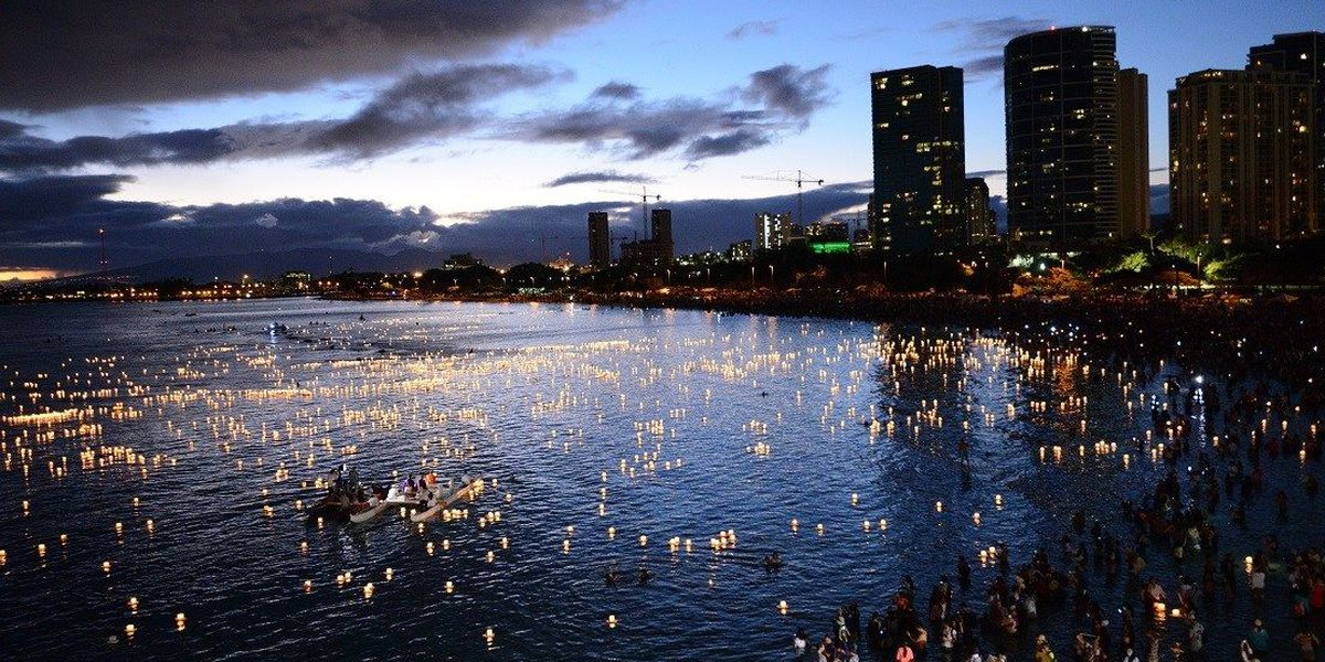 Hundreds of volunteers to help with lantern floating ceremony