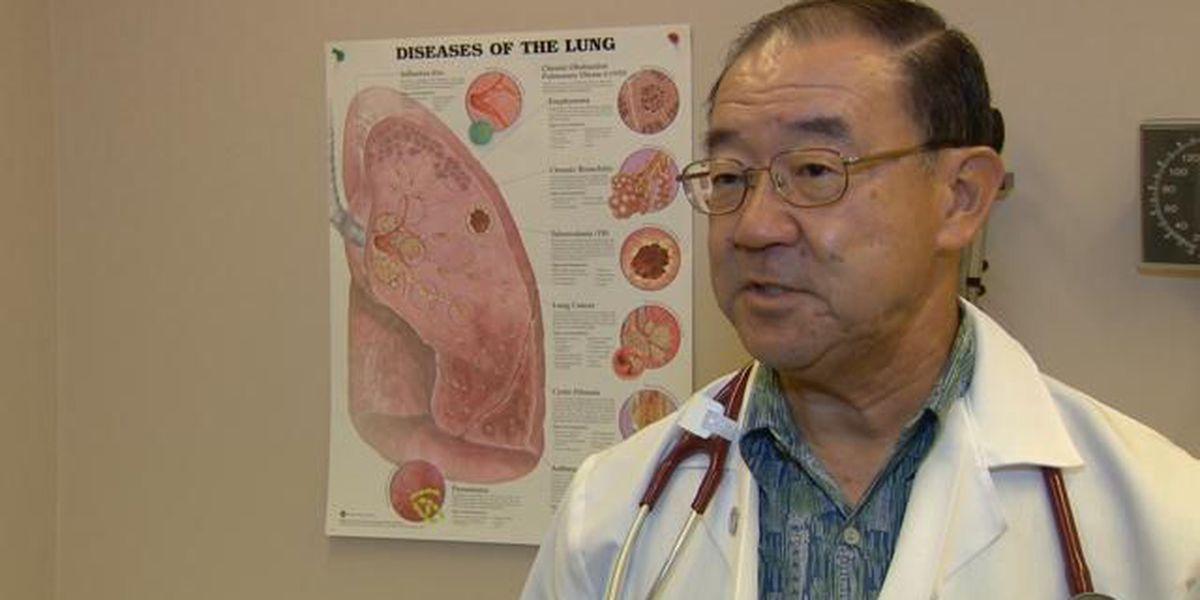 Healthcare Hero - Pulmonologist Dr. Warren Tamamoto