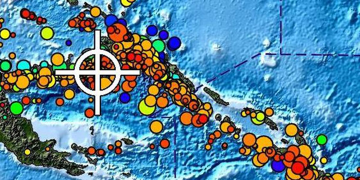 No tsunami threat to Hawaii after large quake rocks Papua New Guinea